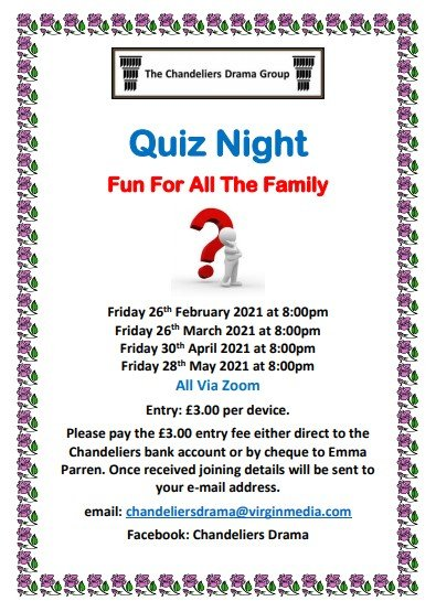 Quiz Flyer Zoom 2021